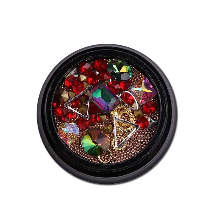 XE54 Nail art Acrylic Powder & Liquid Polish Painting Liquid Glitter Nail tools Strokes Manicure Nail art decorations