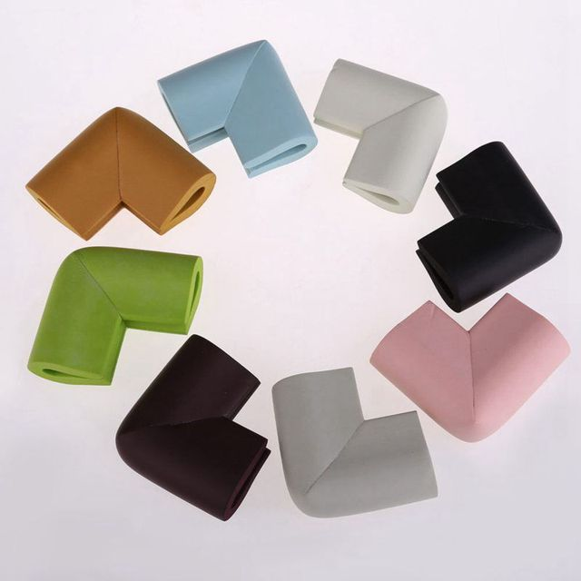 10 Piece Kids Soft Safety Table Corner Edge Protection Cover