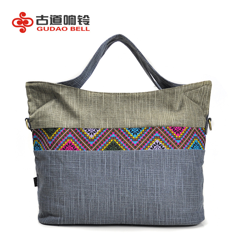 's Handbags Crossbody Messenger Bags Geometric Patterns Portable Diagonal Canvas Bag Classical Art Beauty Free Shipping