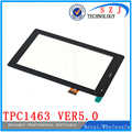 "Original 7"" inch Tablet TPC1463 ver5.0 Outer Touch screen panel Glass Sensor replacement Free Shipping"