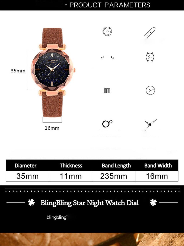 2018 Starry Sky Watch Women Minimalist Top Brand Luxury Wrist Watch For Ladies Female Clock Damski Montre Femme (2)