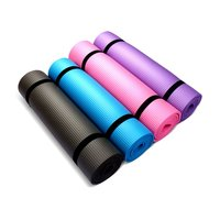 Tasteless NBR Foldable Yoga Mat Exercise Pad Floor Play Mat + Strap + Net Bag For Gym Workout Gymnastics Supplies