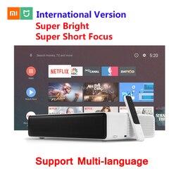 Newest 2019 Xiaomi Mijia International Laser Projector TV Full HD 4K 1080P Dual Wifi 2.4G/5G 150