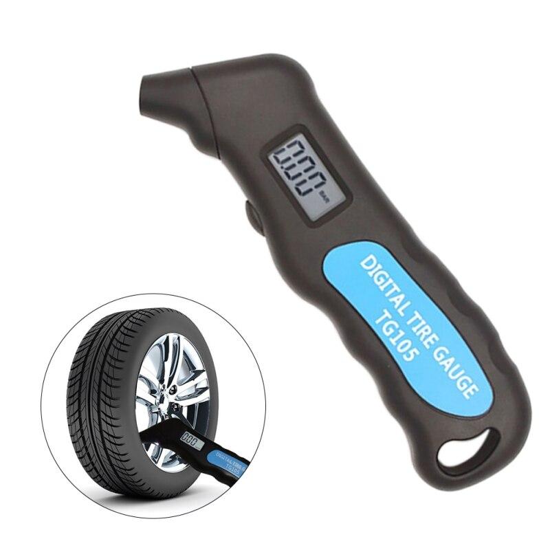 TG105 Tire Pressure Gauge Multifunction Pressure Meter Pressure Measuring Instruments