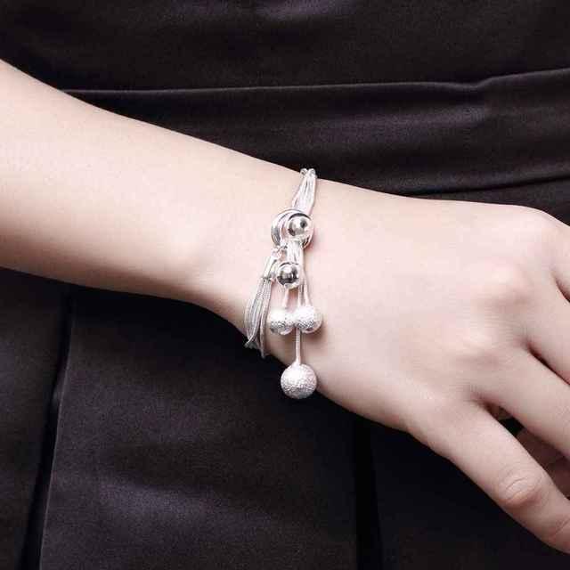 Silver Berries Bracelet