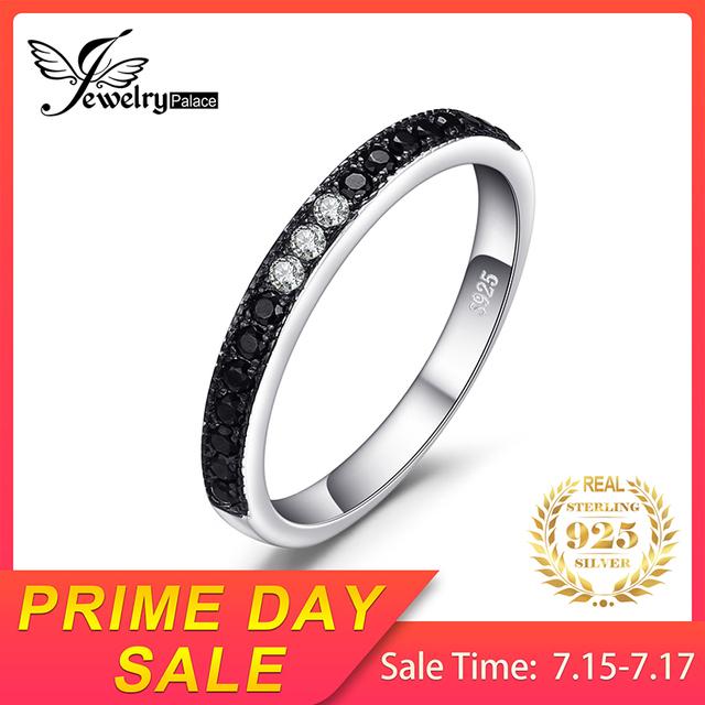 Black Spinel Gemstone Ring