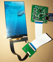 5.5inch 1440*2560 2K LCD KIT For Light curing 3D printer MIPI TO HDMI LCD Touch Kit LS055R1SX08