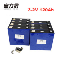 16PCS 120Ah Lifepo4 Lithium Iron Phosphate Cell Aluminum Shell CATL 12V 24V 36V 48V 60V Battery Pack Assembly 3C  Solar Energy цена
