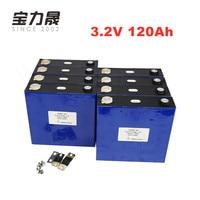 16PCS 120Ah Lifepo4 Lithium Iron Phosphate Cell Aluminum Shell CATL 12V 24V 36V 48V 60V Battery Pack Assembly 3C Solar Energy