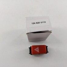 Предупреждающий переключатель мигалки для Mercedes-Benz R107 W123 W126 190E 300 (EMBZ002) 1248200110