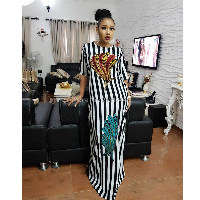 Hot Sale 2020 New Fashion Design Traditional African Clothing Print Dashiki Nice Neck African Dresses For Women Aliexpress