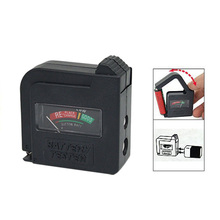 AYHF-New Compact Easy-to-Use Battery Charge Tester For Flashlights Clocks Calculators