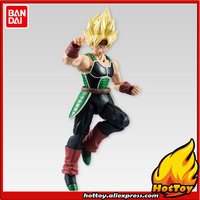 100 Original BANDAI Tamashii Nations SHODO Vol 5 Action Figure Super Saiyan Bardock 9cm Tall From