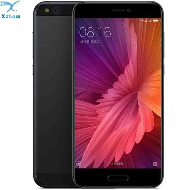 "Original Xiaomi Mi5c Mi 5C Pinecone S1 Octa Core 3GB RAM 64GB ROM Cell Phone 9V 2A 5.15"" 1080P FHD 12.0MP Fingerprint ID MIUI 8"