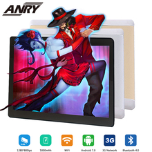 ANRY NEW 2019 MT6580 4GB/32GB 10.1' Tablets Android 7.0 Quad Core Dual Camera 5MP Dual SIM Tablet PC GPS Bluetooth 3G Phone hailangniao 1pcs pc cubieboard a20 dual core development board cubieboard2 dual core with 4gb nand flash