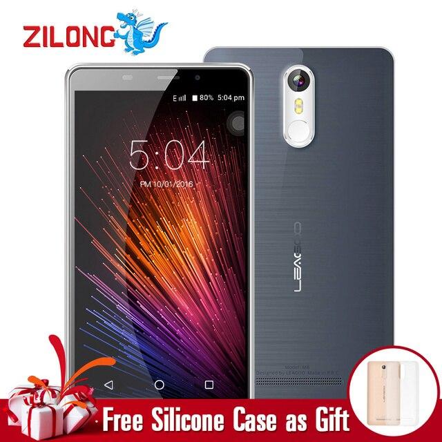 "LEAGOO M8 Smartphone 5.7""HD IPS Android 6.0 MT6580A Quad Core 2GB RAM 16GB ROM 3500mAh Battery 13.0 MP Fingerprint ID Cellphone"