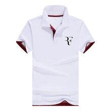 2018 New roger federer Arrival Hot Sale Polo Shirts Men Spri