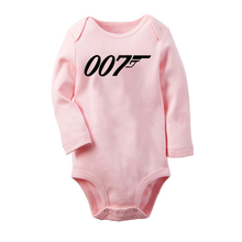 ACDC Newborn Baby Romper Long Sleeve Jumpsuit Infant Bodysuit Onesie