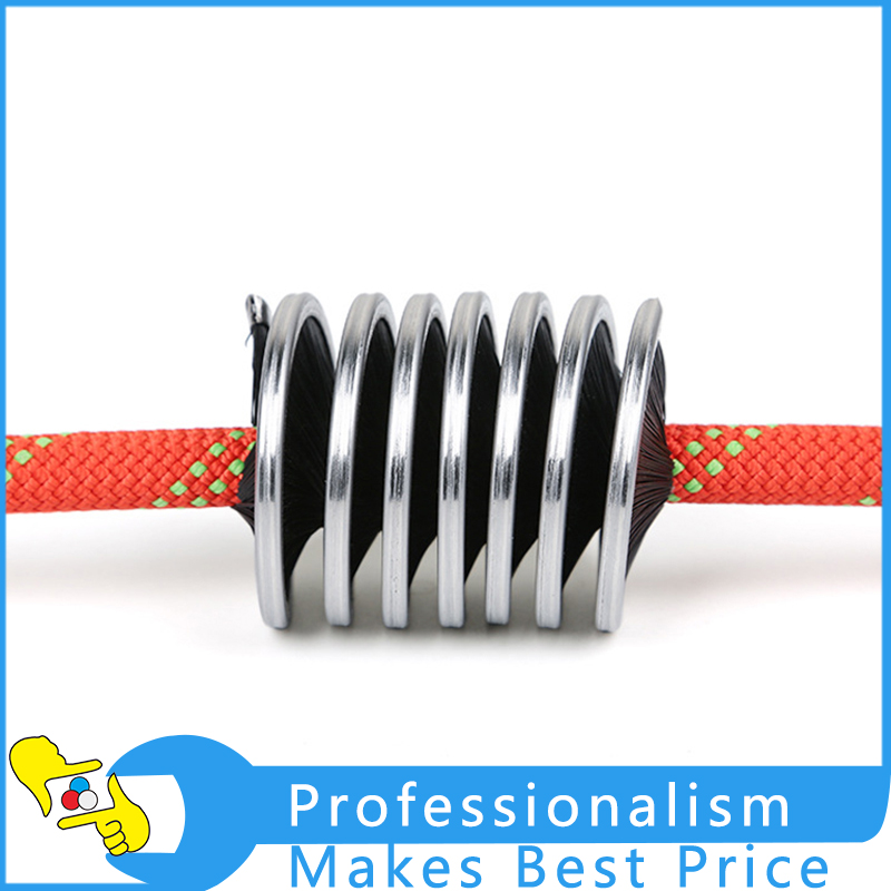 High Quality Nylon Rope Cord Brush Rock Climbing Rope Brush Cleaning Brush Rope Wash Rope Tools 1pcs lot j112y imitation of brass wire brush for cleaning and polishing wooden brush diy using high quality on sale