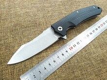2016 Новый открытый тактический складной нож G10 ручка 9cr18mov лезвие утилита кемпинг охотничий нож карманные ножи EDC ручной инструмент