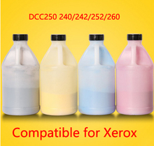 Free Shipping Compatible for xerox DCC250 240 242 252 260 Chemical Color Toner Powder  printer color powder 4KG