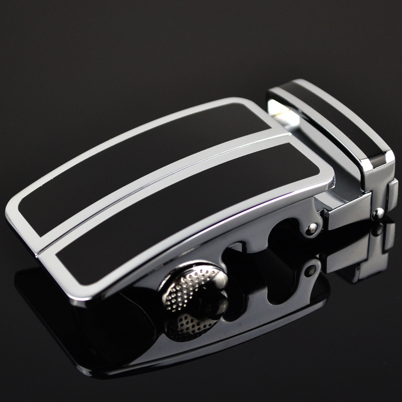 Men's Belt Head Belt Buckle Leisure Belt Head Business Accessories Automatic Buckle Width3.5CM Belts Men High Quality LY136-0074