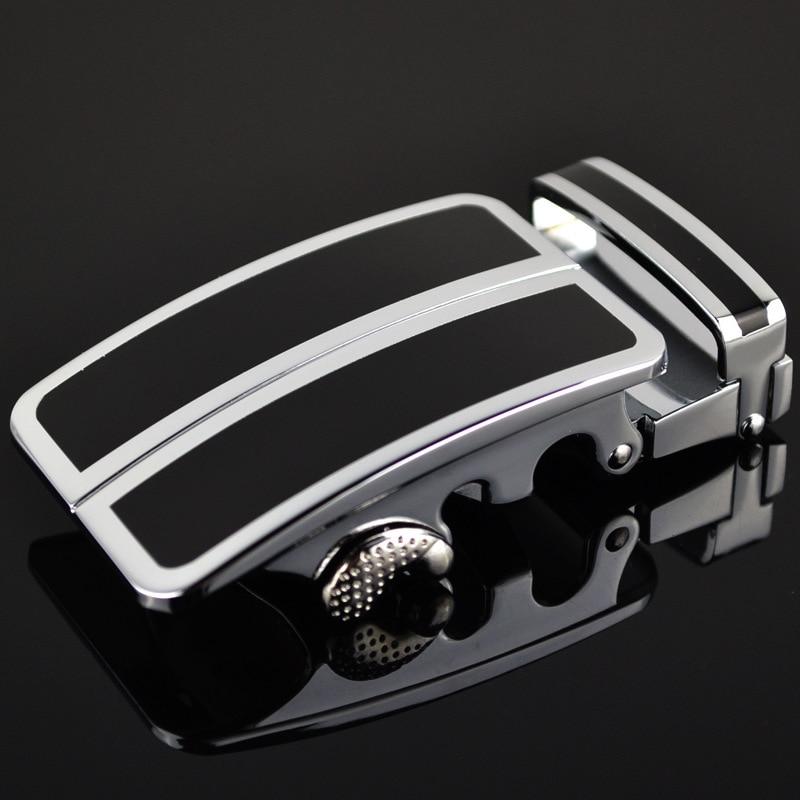 Men's Belt Head Belt Buckle Leisure Belt Head Business Accessories Automatic Buckle Width3.5CM Belts Men High Quality LY136-0074