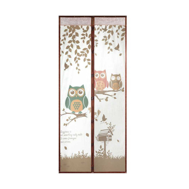 Magnetic Screen Door Curtain Mosquito Net Room Divider Bug Curtain