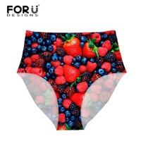 FORUDESIGNS Women High Rise Underwear Panties Women Four Leaf Clover Ladies High Waist Underwear Seamless Ulta
