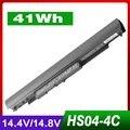 Batería del ordenador portátil para hp hs03 hs03031-cl hs04 hs04041-cl hstnn-lb6u hstnn-lb6v 256 g4