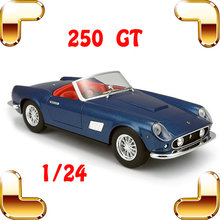 Christmas Gift 250 GT 1/24 Metal Model Classic Car Collection House Decoration Toys Vehicle Model Scale Boy Mini Elegant Present