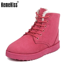 Hot Women Boots Snow Warm Winter Boots Botas Mujer Lace Up Fur Ankle Boots Ladies Winter Shoes woman fur boots size 36-40 Z00005