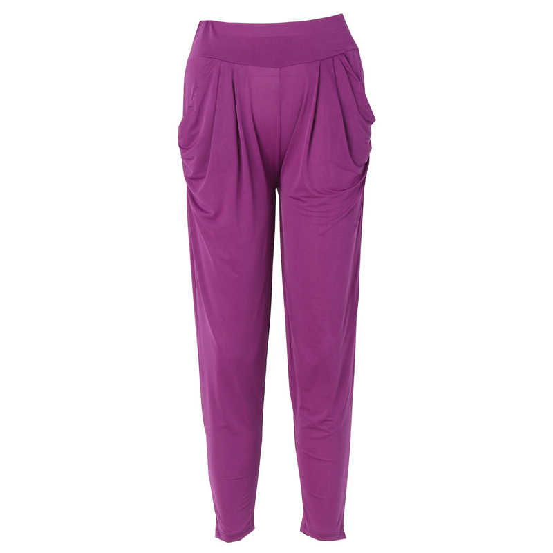 47a8202e722 ... Hirigin Дамская мода Повседневное Гарем Багги Танец тренировочные штаны  Мотобрюки Слаксы Для женщин Штаны с высокой ...