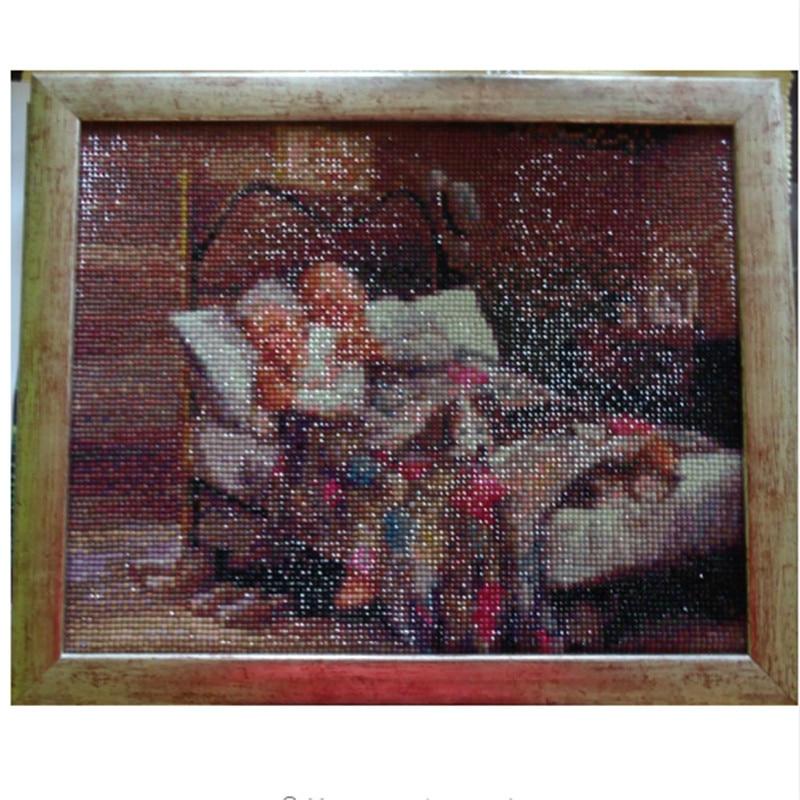 diamond embroidery full square,home sweet home,diy,5d painting rhinestones,diamond painting sleepy old couple h358