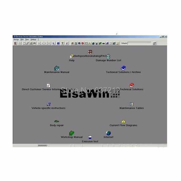detail feedback questions about newest elsawin 4 0 elsawin 4 0 software for  au di/vw/skoda/seat (maintenance + circuit diagram) on aliexpress com |  alibaba