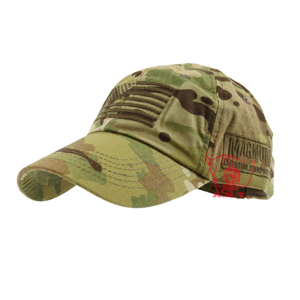 High Quality Combat Velcro Cap With MAGNUM LOGO (Multicam) FREE SHIPPING a1b6ea3b024