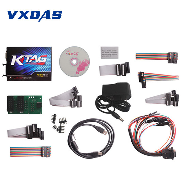 KTAG K-TAG ECU Programming Tool Master KTAG K TAG V2.13 ECU Chip Turning No Token limited FW V6.070 Program Tool Unlimited Token