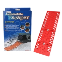 Tyre Grip Tracks Car Security Snow Mud Sand Rescue Escaper Traction Tracks Mats For Emergency Relief