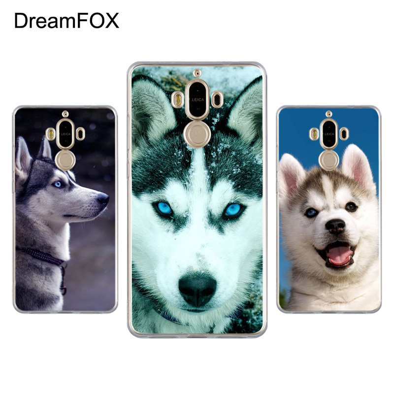 DREAMFOX K198 Sled Dogs Soft TPU Silicone Case Cover For Huawei Mate G 7 8 9 10 Nova 2 L ...