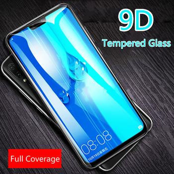 9D Protective Glass For Huawei Y9 2019 Tempered Glass For Huawei Y5 9Y 5Y Lite Prime 2018 Case Full Cover Screen Protector Film image