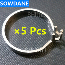5 Pcs of Metal Ring Holder Part Acccessary for Placing Dental Sectional Contoured Matrices Matrix Ring Delta Wedges 100 dental sectional contoured matrices matrix ring delta forceps 40 wedges dental tools