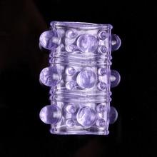 Вибрации замок задержка вибратор Кольца Секс-игрушки для Для мужчин Мужской Силиконовые Кольца для пениса рукава Cock кольцо Для мужчин секс продукта Игрушки