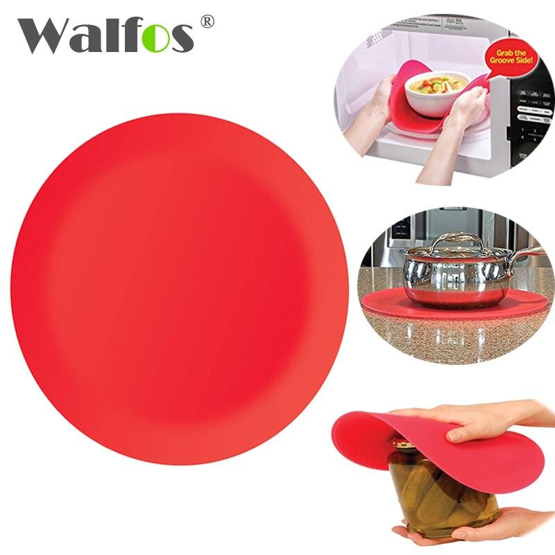 Walfos 25 Cm Silicone Multi Purpose Silicone Microwave Mat