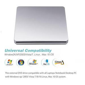 USB внешний слот в DVD CD Привод горелка Superdrive для Apple MacBook Air Pro удобство для воспроизведения музыки фильмы r20