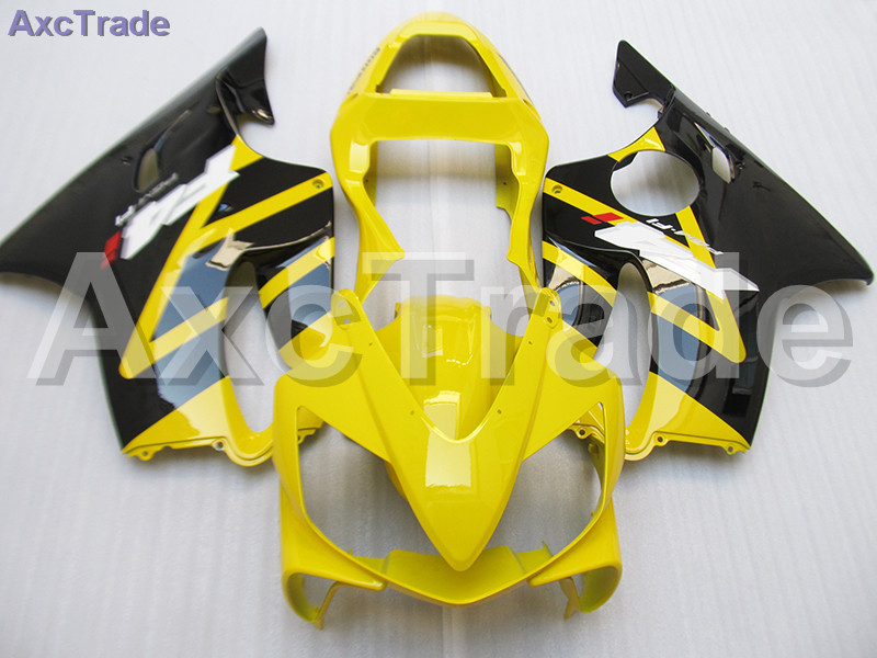 Moto Injection Mold Motorcycle Fairing Kit For Honda CBR600RR CBR600 CBR 600 F4i 2001-2003 01 02 03 Bodywork Fairings Yellow gray moto fairing kit for honda cbr600rr cbr600 cbr 600 f4i 2001 2003 01 02 03 fairings custom made motorcycle injection molding