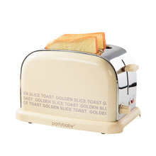 Free shipping British Household stainless steel retro toaster for breakfas