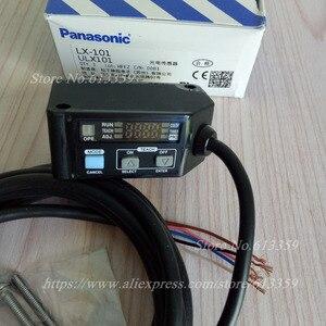 Image 2 - LX 101 sensor de código de cor interruptor fotoelétrico sensor rgb cor digital 3 led mark sensor npn 2 m cabo 100% original novo