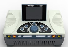 Aerops cargador iCharger 4010 Duo de 2000W, 40A, 10S, puerto Dual s Balance, cargador de batería Lipo Dual DC NIB