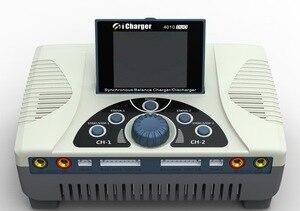Image 1 - Aerops חדש iCharger 4010 Duo 2000 w 40A 10 s הכפול יציאות איזון כפול יציאת Lipo חיי סוללה מטען DC ציפורן