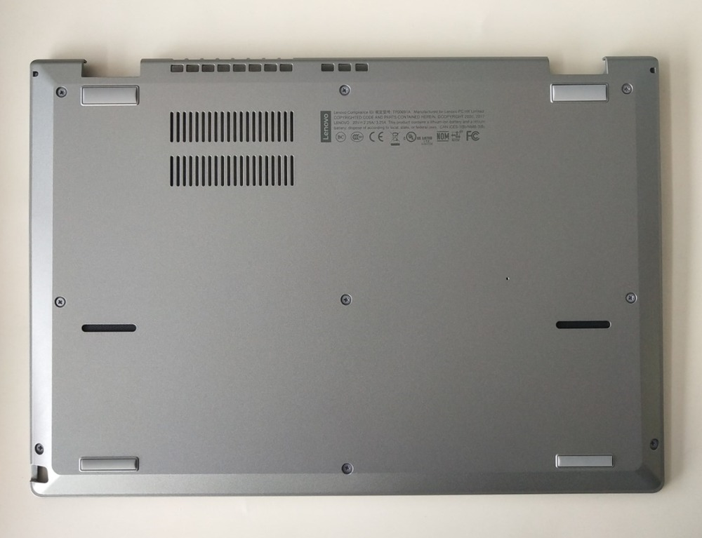 Original New For Lenovo Thinkpad L380 Yoga 20M5 20M6 Laptop Lower Case Bottom Case Base Cover Silver 02DA305 02DA307 new case cover for lenovo g500s g505s laptop bottom case base cover ap0yb000h00